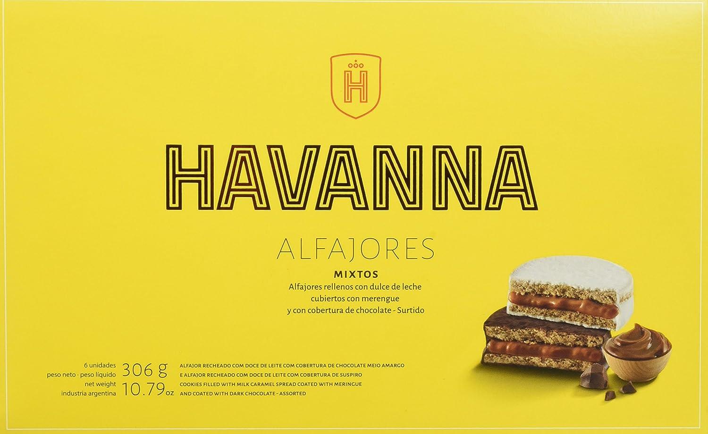 Havanna Alfajores Mixtos - 306 gr: Amazon.es: Alimentación y bebidas
