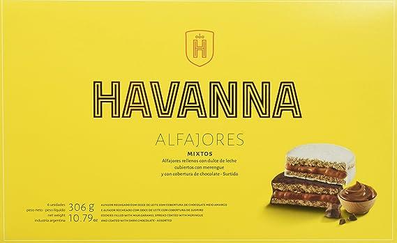 Havanna Alfajores Mixtos - 306 gr