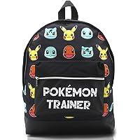 Mochila Pokemon Escolar Let's Go Pikachu Charmander Bulbasaur