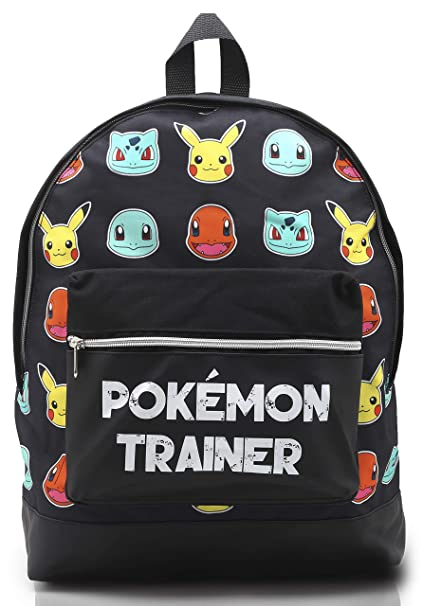 8637c03e30 Cartable Pokemon Primaire Sac a Dos Enfant Garcon Fille College Gymnase  avec Let's Go Pikachu Bulbasaur