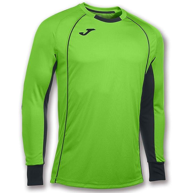 Camiseta de fútbol de verde neón