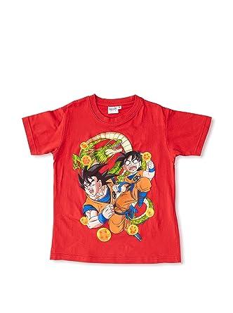 Madness Camiseta Manga Corta Dragon Ball Rojo 8 años (128 cm ...