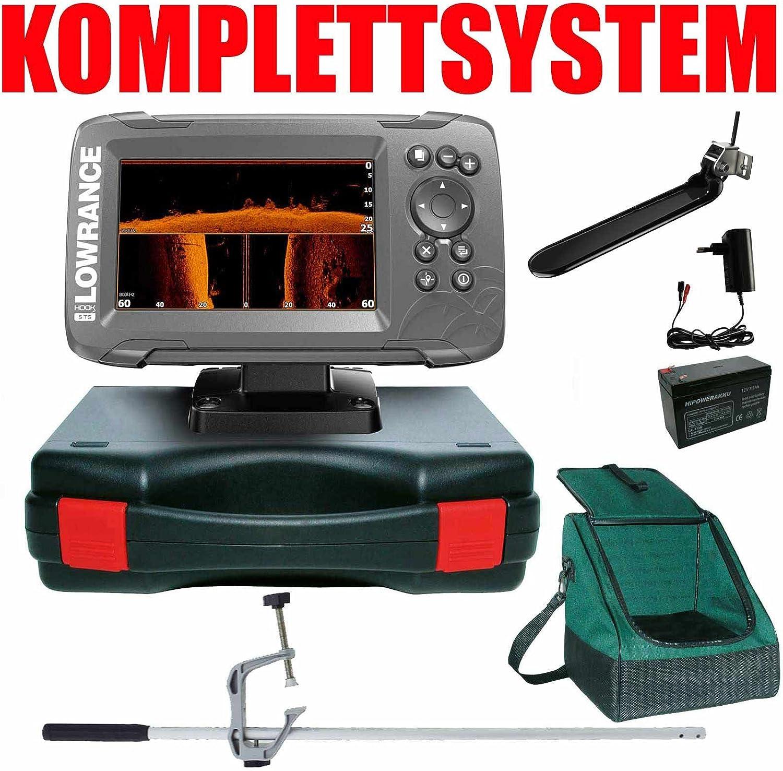 Lowrance Echolot Your Design Portabel Master Plus hook2 5 Triple Shot Chirp Combo GPS: Amazon.es: Deportes y aire libre