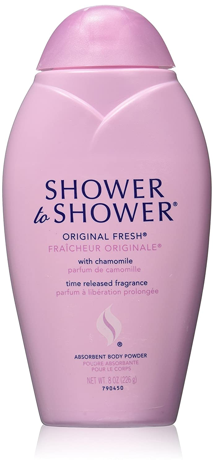 Shower to Shower Original Fresh 8 Oz (3 Pack) Valeant Consumer Products