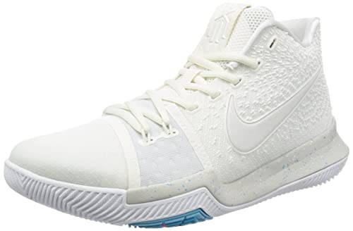premium selection e7ab8 73c21 Nike Men's Kyrie 3 Ivory/Pale/Grey/Light/Bone Basketball Shoe (10.5)