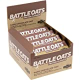 Battle Oats High Protein Gluten Free Flapjacks, 12 x 70g Protein Bar - Dark Choc Chip