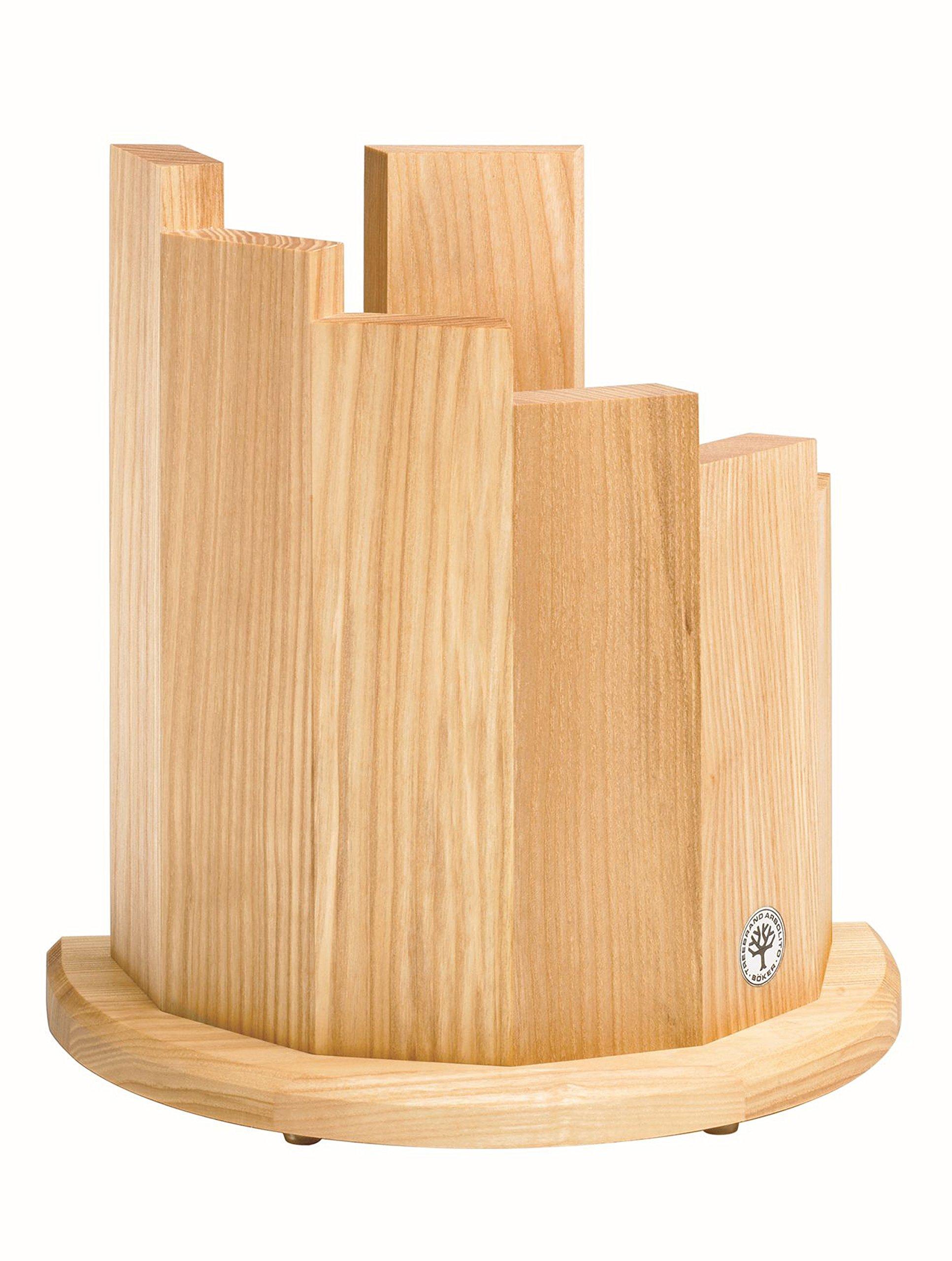 Boker 30401 Wood Magnetic Knife Block, Olive