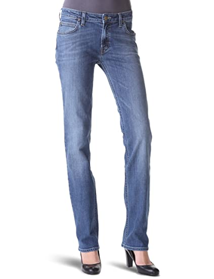 65f96a79 Lee Women's Marion Straight Leg Jeans: Amazon.co.uk: Clothing