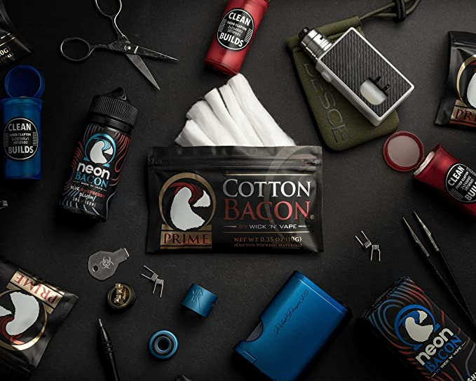 Cotton Bacon Prime WicknVape: Amazon.es: Salud y cuidado personal