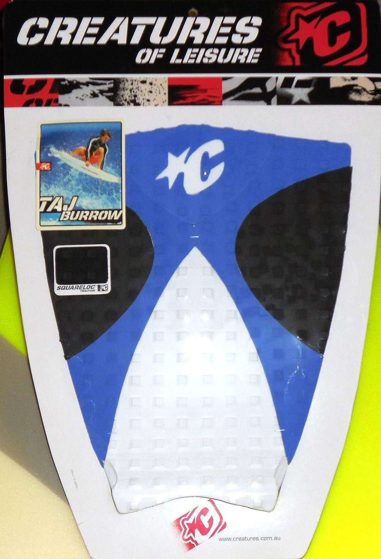 Taj Burrow Designed Creatures of Leisure Surfboard Traction Pad B0006TYCQI White/Blue/Black White/Blue/Black