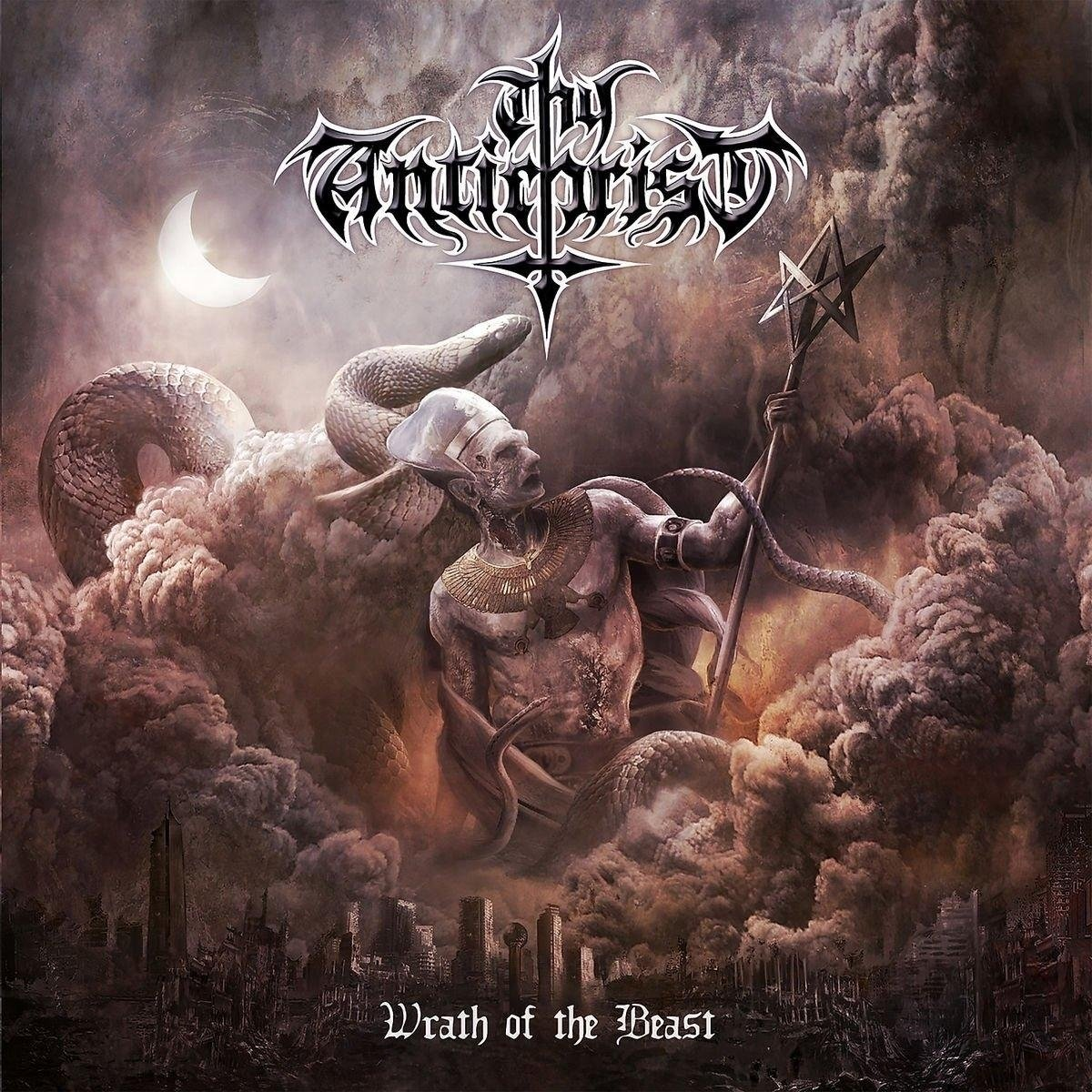 CD : Thy Antichrist - Wrath Of The Beast (CD)