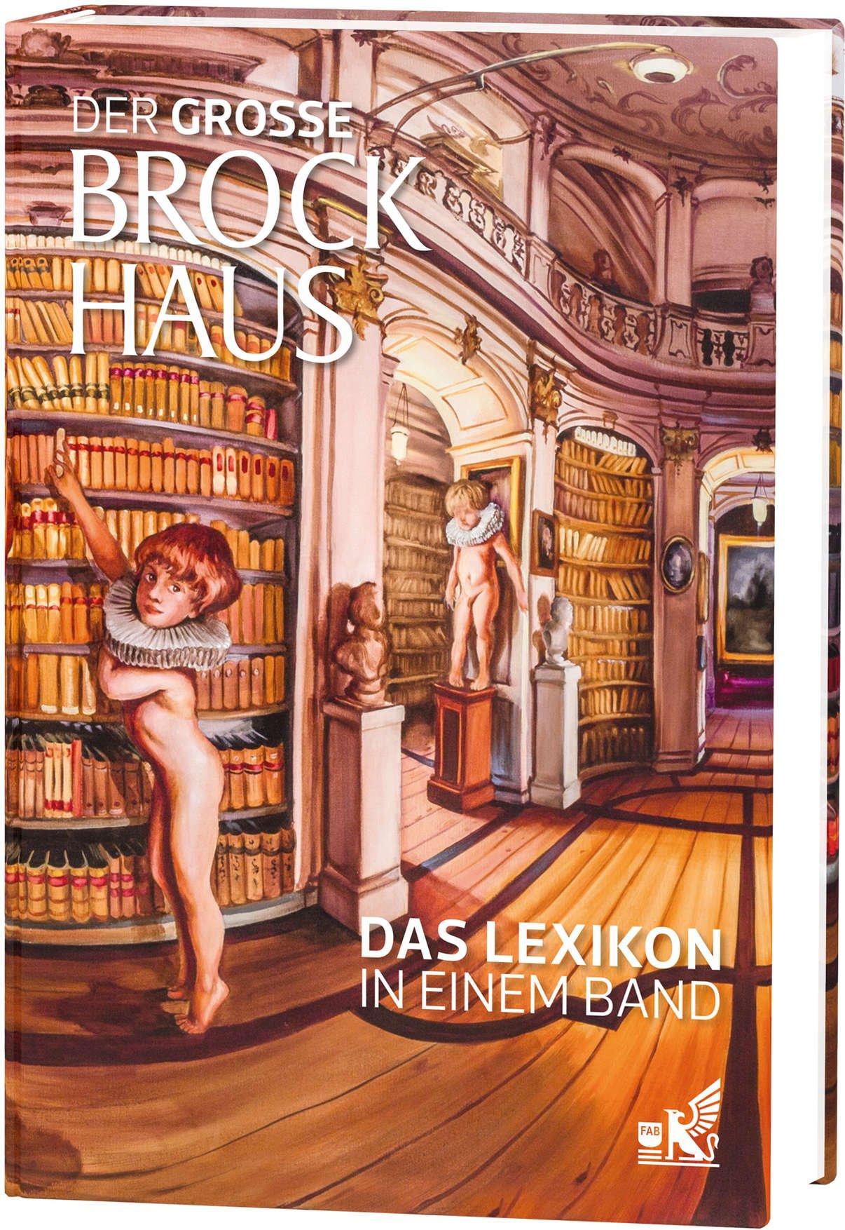 Der große Brockhaus Das Lexikon in einem Band: Künstlerausgabe Sala Lieber
