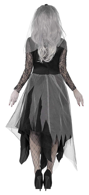 Smiffys Disfraz de novia, diseño de cementerio: Amazon.es ...