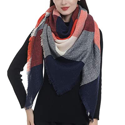 Women Big Square Long Scarves