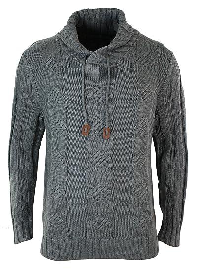 sur des pieds à nouvelles variétés meilleur pas cher Rainbow Pull Homme Sweatshirt Hiver Tricot Chaud Gris Anthracite Torsades  Look décontracté