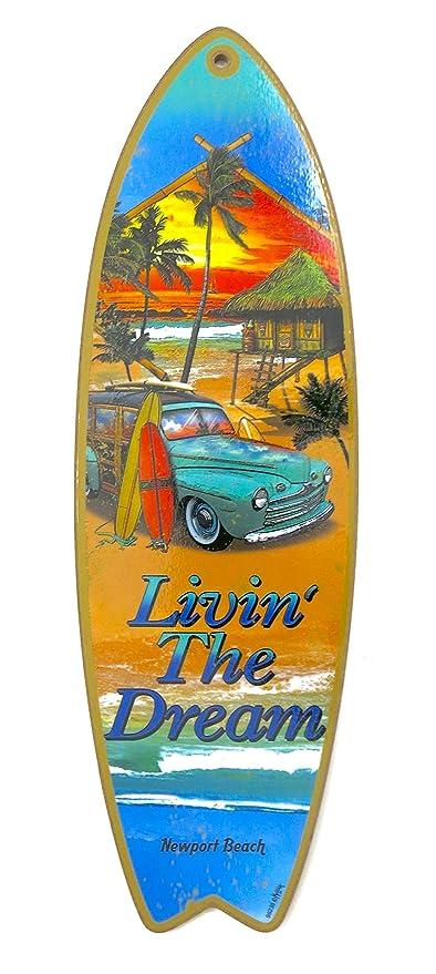 """Newport Beach, tablas de surf, """"livin el sueño,"""" Tienda"""