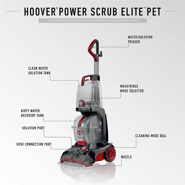 Hoover FH50251PC Power Scrub Elite Pet Carpet Cleaner