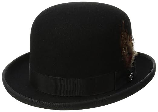 323d56dd60a78 Stetson Men s Derby Royal Deluxe Fur Felt Hat at Amazon Men s Clothing store