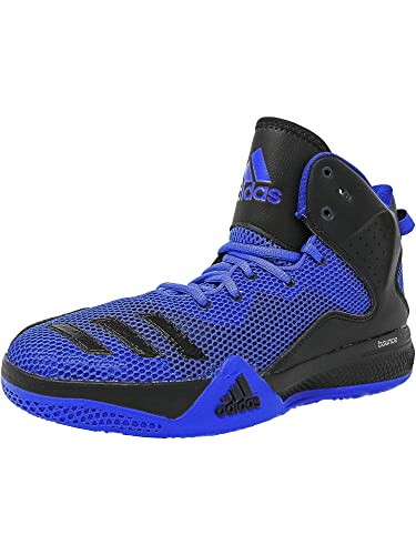 864b725e8be8 adidas Men s Dt Bball Mid Blue Core Black Collegiate Royal Ankle-High  Fabric Basketball