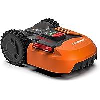 Worx Landroid S WR130E Robotmaaier, accugrasmaaier voor kleine tuinen tot 300 vierkante meter, zelfrijdende grasmaaier…