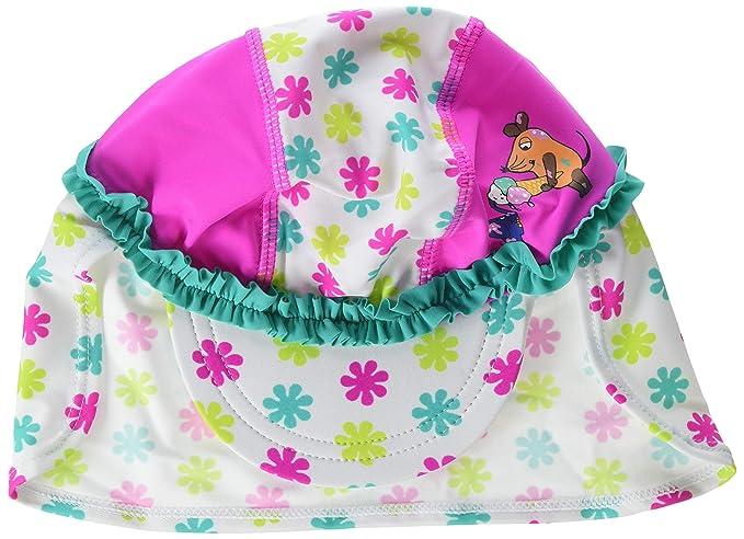 Playshoes M/ädchen Badeanzug UV-Schutz DIE MAUS Blumen