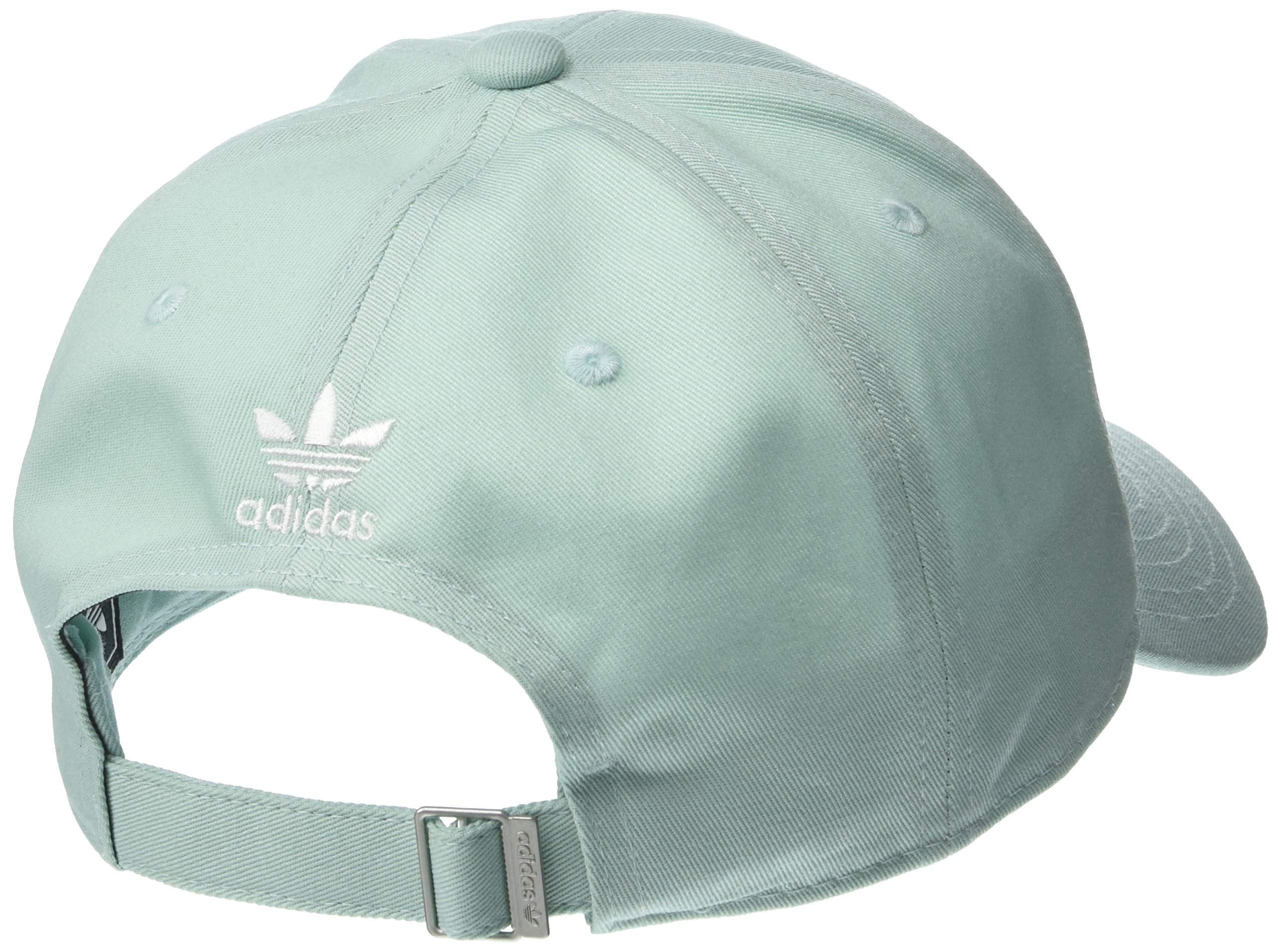 adidas Women's Originals Outline Logo Relaxed Adjustable Cap, Ash Green/White, One Size by adidas (Image #2)