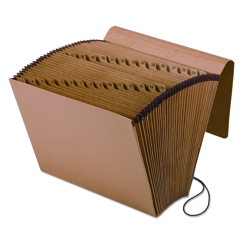 Pendaflex Expanding Kraft File with Flap, 1-31 Index, 12 x 10, 1 Per Box,( K-17D-OX) S.P. Richards CA