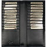 プラスエイチ(Plus H) 財布 カードケース カード20枚収納 レザー 牛革 PH7979