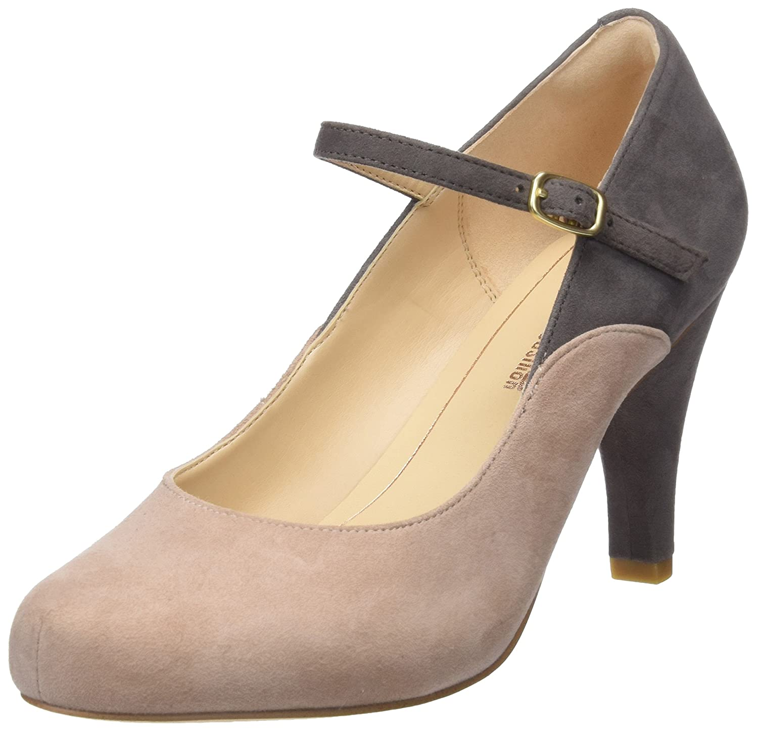 eaf91e51881 Clarks Dalia Lily Suede Shoes in Black  Amazon.co.uk  Shoes   Bags