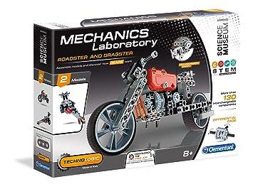 Clementoni 61285 - Kit de mecánicos para Roadster y Dragster: Amazon.es: Juguetes y juegos