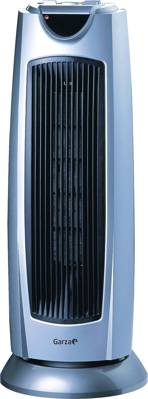 Garza PTC-02 Calefactor Cerámico, 2000 W, Plástico, Gris