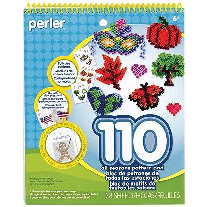Perler Beads Pattern Pad All Seasons 28 Pgs