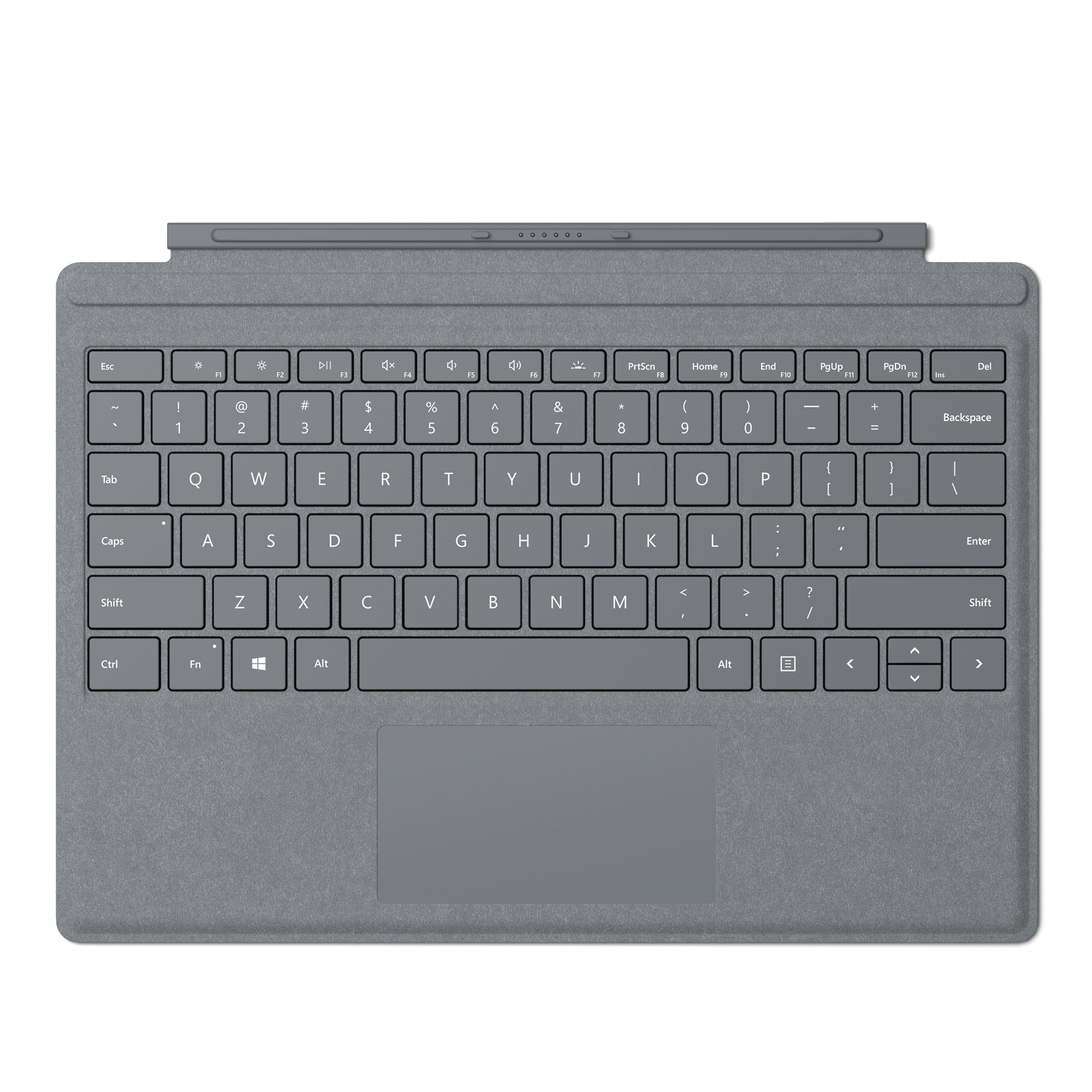 Microsoft Surface Pro Signature Type Cover - Platinum by Microsoft
