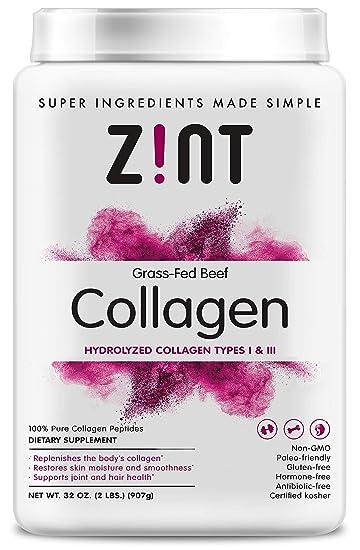 Amazon.com: Zint Collagen, NUAT-032, frasco, 1: Health ...