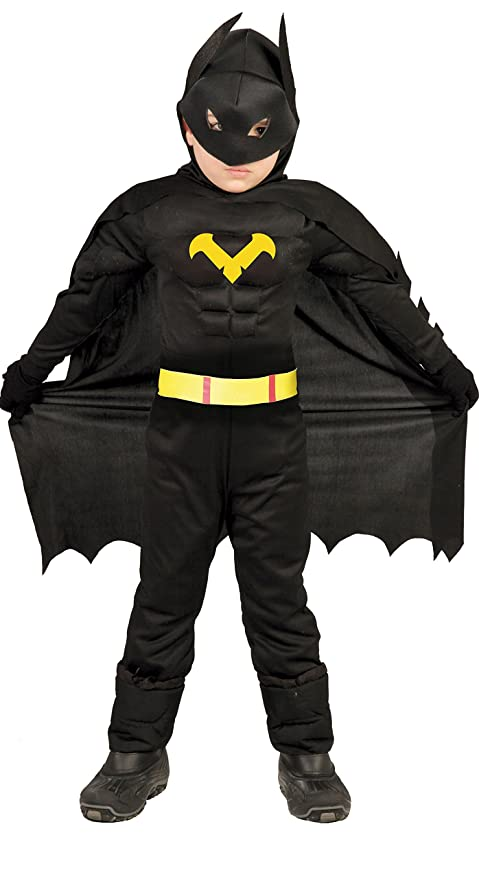 Vestito Di Batman Amazon Carnevale Bambino vNymn08wOP