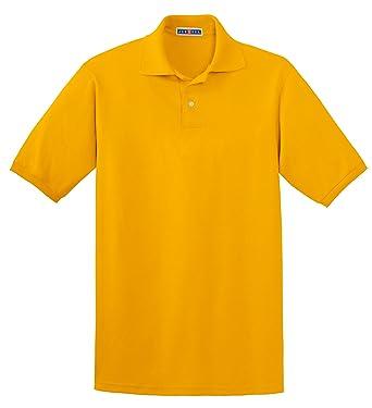 Jerzees Men\u0027s 5.6 oz., 50/50 Jersey Polo with SpotShield™ 3XL GOLD