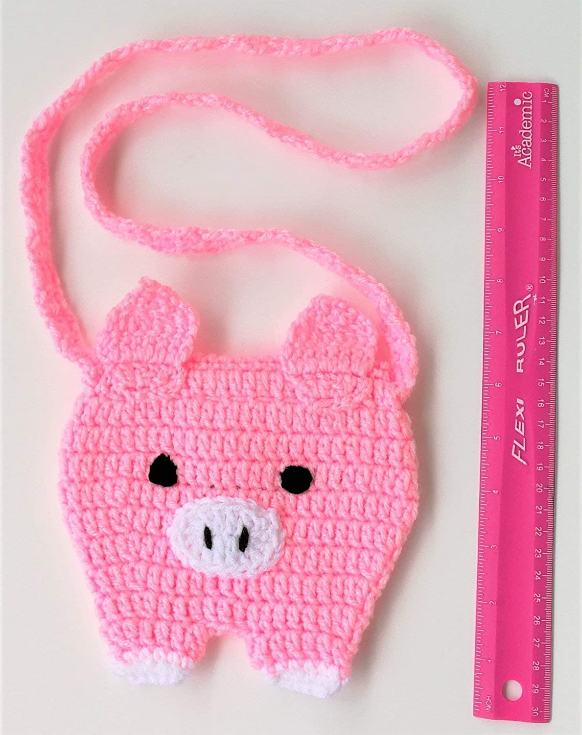 8 6 9,10 years old Kids Daughter Granddaughter Niece Pig Lovers Farm Animal Purses Handbag Present Valentine Days Gift Holidays Gifts For Girls 3 7 4 5