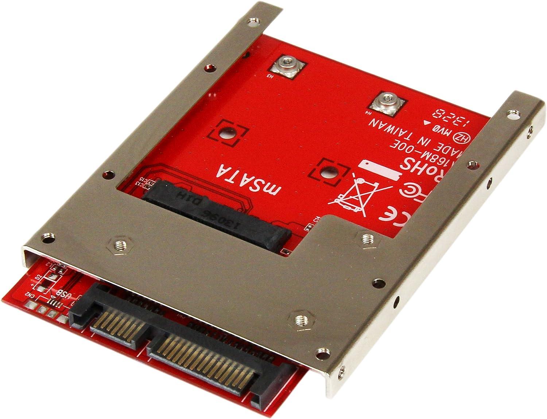 Startech Com Msata Ssd Auf 2 5 Zoll Sata Adapter Computer Zubehör