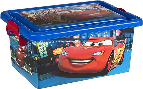 ColorBaby - Caja ordenación 7 litros, diseño cars (76604): Amazon ...