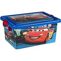 ColorBaby - Caja ordenación 7 litros, diseño cars