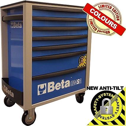 Herramientas Beta C24SA/7 mecánica funda para armario con ruedas para cabina para herramientas en caja –