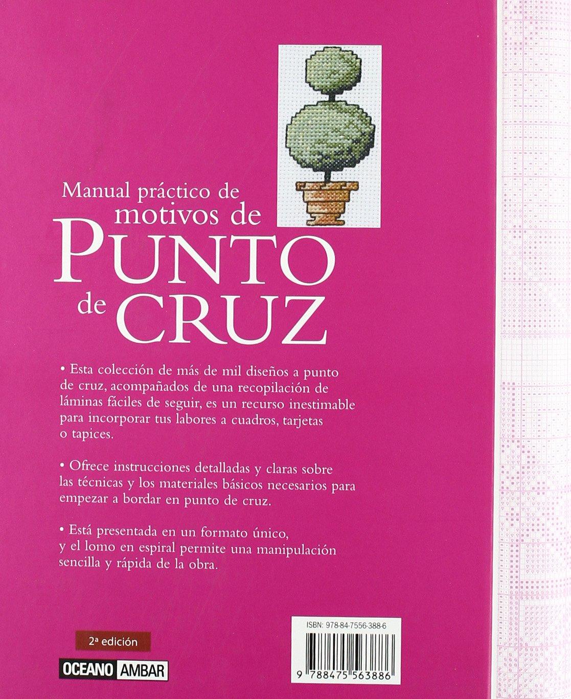 Manual Práctico De Motivos De Punto De Cruz Ilustrados / Labores:  Amazon.es: Jan Eaton: Libros