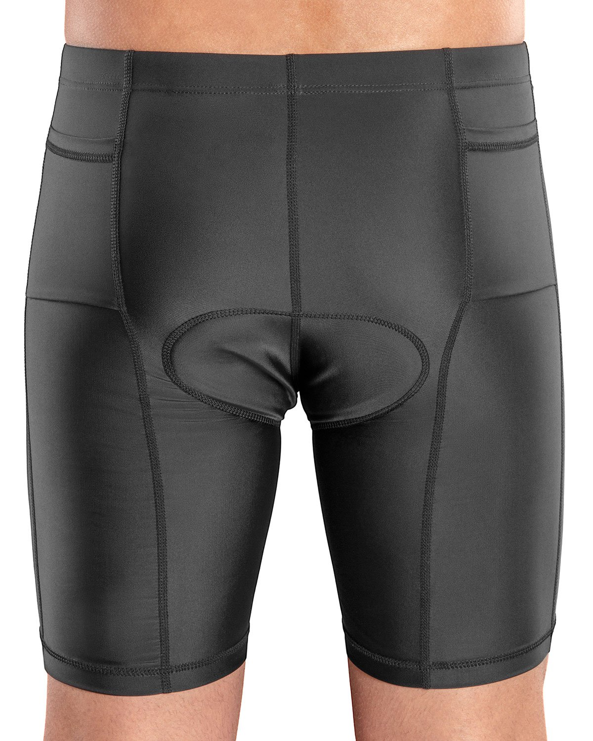 SLS3 Men`s Triathlon Swim Shorts + Race Belt | 2 Pockets Triathalon Shorts | Bike Shorts Men Triathlon | FRT 2.0 | German Designed L by SLS3 (Image #6)
