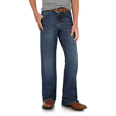 59b9e3c2 Amazon.com: Wrangler Boys' Retro Relaxed Fit Boot Cut Jeans: Clothing