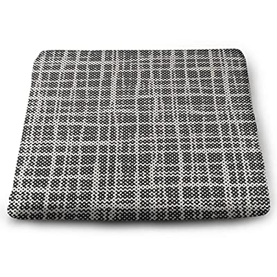 Tinmun Square Cushion, Abstract Halftone Grid Check Pattern Large Pouf Floor Pillow Cushion for Home Decor Garden Party: Home & Kitchen