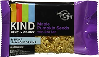 product image for KIND Healthy Grains Granola Bars, Maple Pumpkin Seeds with Sea Salt, Non GMO, Gluten Free, 1.2 Ounce Bar Sample