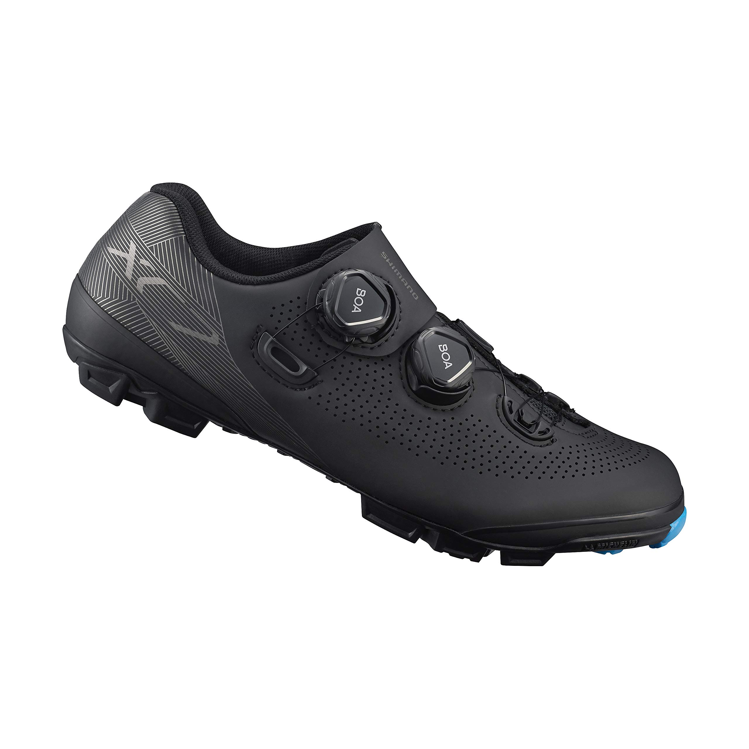 SHIMANO SH-XC701 LSG Series Off-Road Racing; XC Race; Cycling Bicycle Shoes; Black; 43 by SHIMANO