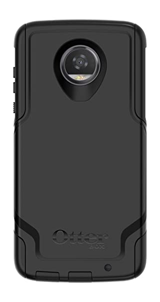 meet 4c603 6ded7 OtterBox COMMUTER SERIES for Moto Z2 Play - Retail Packaging - BLACK