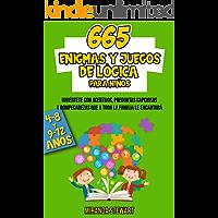 665 enigmas y juegos de lógica : Diviértete con acertijos preguntas capciosas y rompecabezas que a toda la familia le…