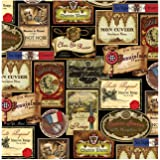 Thirstystone 4-Piece French Wine Labels Coaster Set